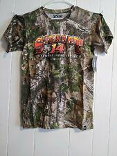 Tony Stewart #14 T-shirt Realtree Camo 2014 NASCAR XL