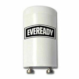Pack x4 EVEREADY Fluorescent Starter 4-65W FSU 220-240V Flu Tube Start FS-U UK