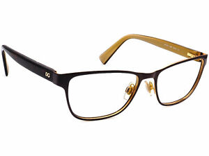 Dolce & Gabbana Eyeglasses DG 1273 1269 Browm/Tortoise/Gold Frame 53[]16 140