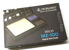Saldo en 100g 0.01g Mini LCD Digital de bolsillo escala precisas que pesan MZ-100