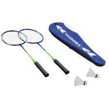 Hudora Badminton Set Winner HD-33 mit 2 Schläger und Bälle