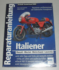 Manuel de Réparation Restaurierungsanleitung Ducati + Morini + Moto Guzzi +