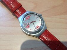 Swiss Made Mens SWATCH  `Irony` Date Aluminium Watch