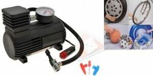 Air Compressor Car Tyre Pump Heavy Duty Inflator 12v Electric Compact Bike Cycle