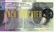 Ticket Concert: Rock Werchter 1996 (7/7/1996) Torhout Werchter