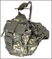 EXTREME TACTICAL MESSENGER BAG - ACU DIGITAL CAMO 600 DENIER FABRIC MATERIAL