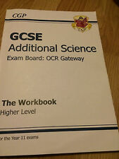 GCSE Additional Science OCR Gateway Workbook - Higher Level, CGP Books Book