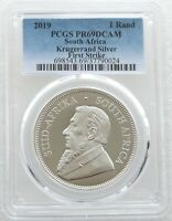 2019 South Africa Krugerrand Silver Proof 1oz Coin PCGS PR69 DCAM FIRST STRIKE