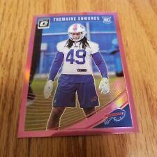 2018 Donruss Optic Pink 107 Rookies Tremaine Edmunds Buffalo Bills Football Card