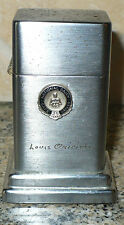VINTAGE 1950's ZIPPO ADVERTISING TABLE LIGHTER NATIONAL DAIRY SAFE DRIVER 25 YRS