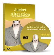 Jacket Alteration: Shoulder Shortening & Shoulder Pad DVD (Education, Fashion)
