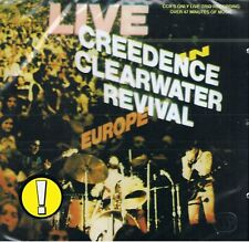 CREEDENCE CLEARWATER REVIVAL - Live In Europe - CD NEU CCR PROUD MARY
