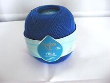 Häkelgarn Coats Anchor Aida 10 -  50g 00143 blau