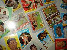 1950's & 1960's BASEBALL HALL OF FAMERS 1950-69 HOFs MANTLE WILLIAMS AARON MAYS