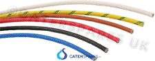 HIGH TEMPERATURE 2.5mm FIBREGLASS WIRE CABLE HIGH TEMP 5 METRE LENGTH CATERING