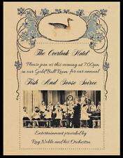 The Shining Overlook Hotel Fish & Goose Soiree Invitation Gold Ball Room *102