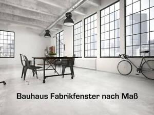 Bauhaus Stahl-Loft Fenster Fabrikfenster Sprossenfenster Trennwand - nach Maß