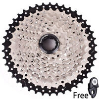 SUNSHINE MTB Bike 10 Speed 11-42T Cassette Flywheel Black fit Sram Shimano HG500