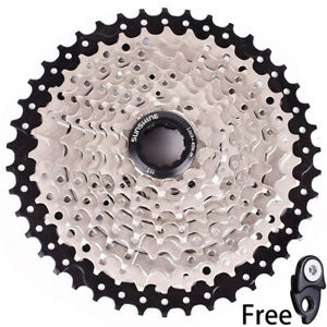 SUNSHINE 10 Speed 11-42T MTB Bike Cassette Flywheel fit Sram Shimano HG500 Black