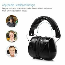 34dB Noise Cancelling Ear Muffs Hearing Protection Ear Defenders For Shooting
