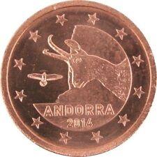 Pièces euro pour 2 cent année 2014