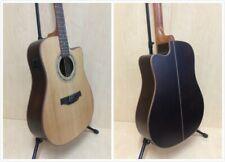 Klema K300DC-CE Solid Cedar Top Acoustic Guitar w/Fishman EQ+Free Gig Bag, Picks