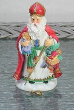"Vintage ""Dutch St. Nicholas"" 1994 Old World Santa Collection by K. Stevenson"
