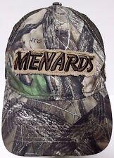 MENARDS Home Improvement Retail Store CAMO CAMOUFLAGE Snapback Trucker Cap Hat