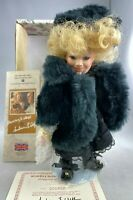 """GUSTAVE F. WOLFF WIMBLEDON COLLECTION AMERICAN BEAUTY 9"""" VINTAGE PORCELAIN DOLL"""