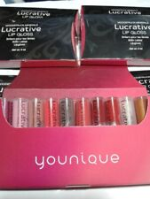10pc Younique Lucrative Lip Gloss Samples NEW