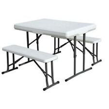 616 Stansport Heavy Duty Picnic Table and Bench Seat