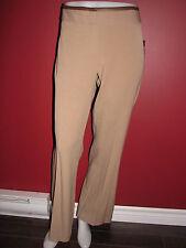 RAFAELLA Women's Modern Flare Leg Tan Pant - Size 10P - NWT