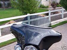 Harley Windshield FLHTC FLHX 8 in Medium Gray Windshield 1996-2013 Bat Wing