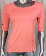 Tangerine Brand Workout Top Size S 3/4 Sleeve Orange