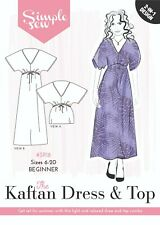 Womens Ladies Beginner The Kaftan Dress and Top UK 6-20 Sewing Pattern