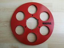 "2 stück Nagra NAB Aluspulen 10.5"" 26.5 cm empty metal reels Studer Revox"