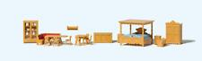 Preiser 17710 Country House Furniture HO Gauge Figures