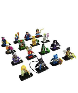 Lego DC Super Heroes Minifigures 71026 - Complete Set of 16 - FREE SHIP