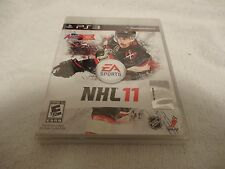 NHL 11 Video Game Playstation 3 PS3 New Sealed