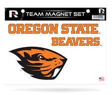 Ncaa Oregon State Beavers Team Magnet Set