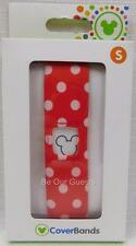 Disney Parks Magic Band Coverbands Cover Minnie Mouse Polka Dots Small Sm New