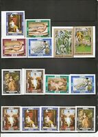 Ajman / Paintings . Perforated And Imperforated. MNH