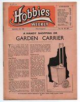 Vintage Hobbies Weekly Magazine Vol 110 No 2863 printed in 1950