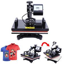 "15""x12"" Swing Away Heat Press Transfer T-shirt Sublimation Machine Digital"