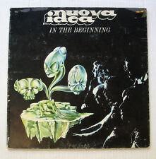 NUOVA IDEA in the beginning LP 1971 Ariston AR/LP/12061 RARE Italian Prog