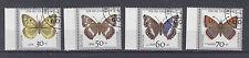 BRD Briefmarken 1991 Schmetterlinge Mi.Nr.1512-15  Rand