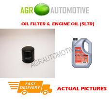 DIESEL OIL FILTER + FS 5W40 OIL FOR LAND ROVER FREELANDER 2.0 98BHP 1998-00