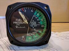 Beechcraft Dual Fuel Flow Indicator 96-380024  *OH 8130-3*