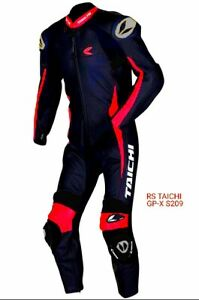 NEW RS TAICHI motorcycle racing Leathers one piece Suit size 44US/54EU