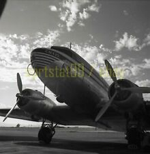 1948 Pan-Am / Mexicana Airlines CMA25 @ LA Airport - Vintage Airplane Negative